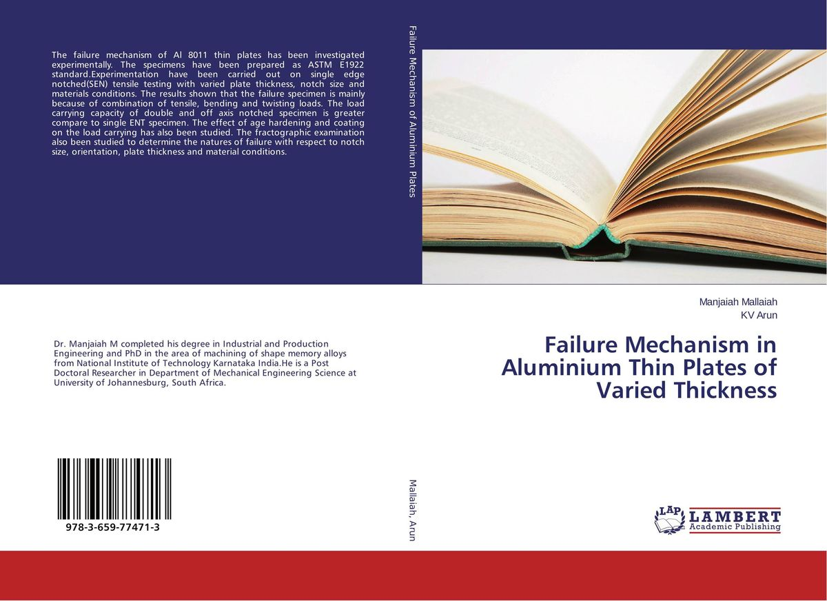 Failure Mechanism in Aluminium Thin Plates of Varied Thickness evaluation of pile failure mechanism by piv method