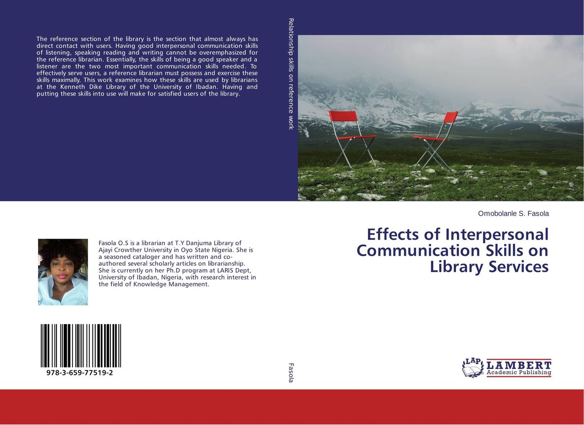 Effects of Interpersonal Communication Skills on Library Services effects of khat catha edulis exercise
