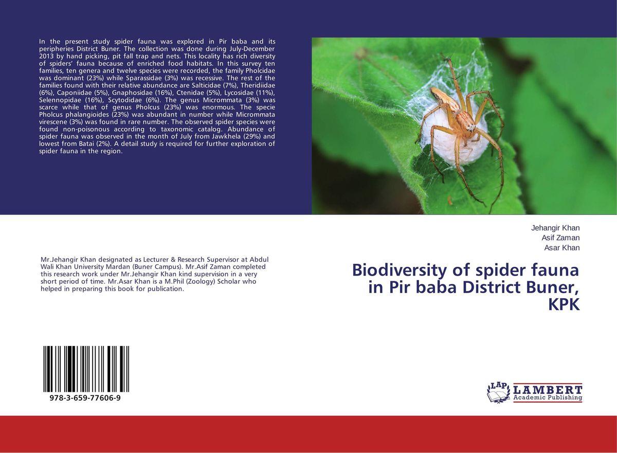 Biodiversity of spider fauna in Pir baba District Buner, KPK found in brooklyn