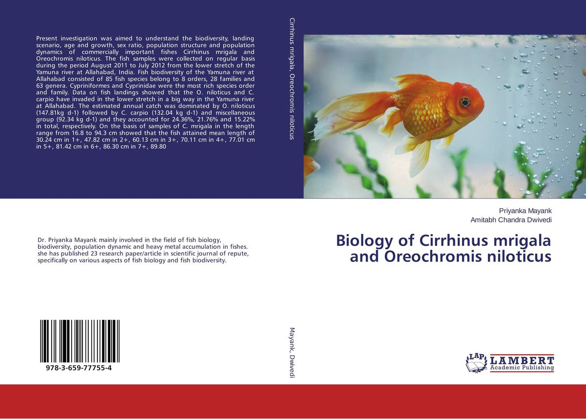 Biology of Cirrhinus mrigala and Oreochromis niloticus bruce bridgeman the biology of behavior and mind