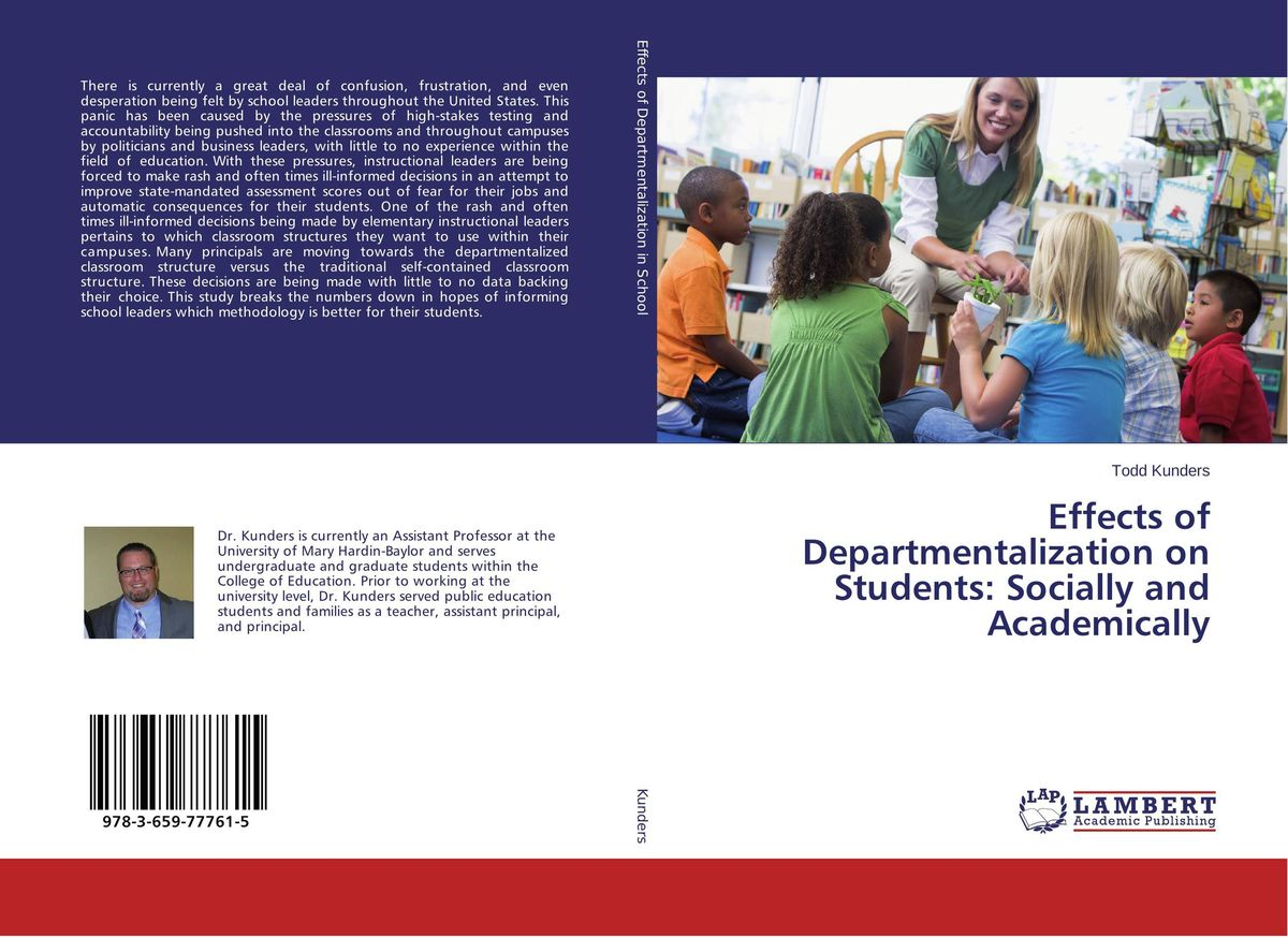 Effects of Departmentalization on Students: Socially and Academically