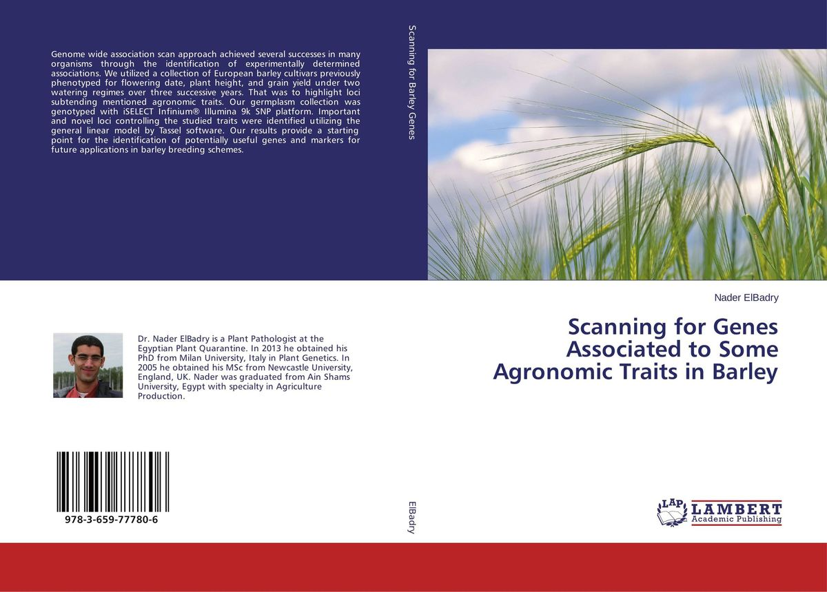 Scanning for Genes Associated to Some Agronomic Traits in Barley butterflies in the barley