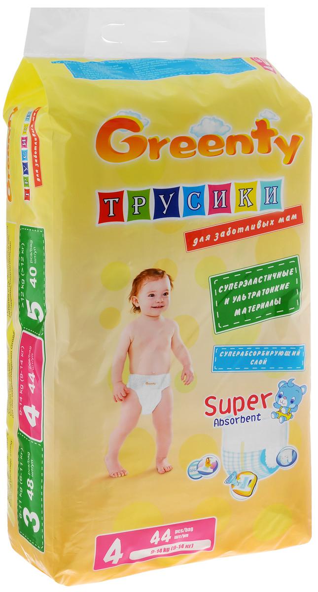 Greenty Подгузники-трусики 9-14 кг 44 шт