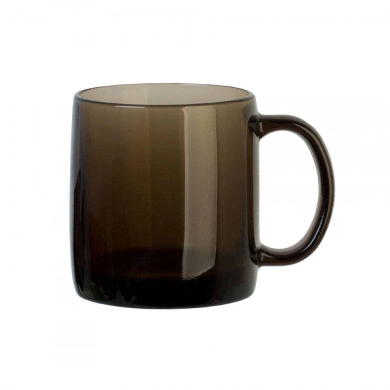 Кружка Luminarc Нордик, цвет: дымчатый, 380 млH9151Кружка Luminarc Нордик изготовлена из упрочненного стекла. Такая кружка прекрасно подойдет для горячих и холодных напитков. Она дополнит коллекцию вашей кухонной посуды и будет служить долгие годы. Можно использовать в посудомоечной машине и микроволновой печи. Объем кружки: 380 мл. Диаметр кружки (по верхнему краю): 8 см. Высота стенки кружки: 9,5 см.