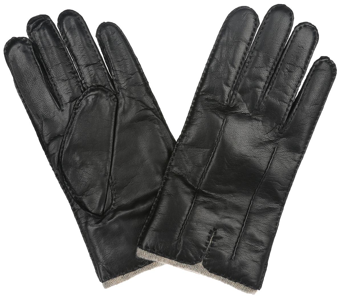 Перчатки мужские Labbra, цвет: черный. LB-0013. Размер 8,5