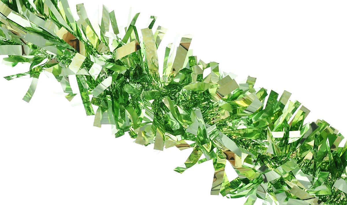 Мишура новогодняя Феникс-презент Magic Time, цвет: светло-зеленый, диаметр 9 см, длина 200 см. 38187/7577838187/75778Мишура новогодняя Феникс-презент Magic Time, выполненная из ПЭТ (полиэтилентерефталата), поможет вам украсить свой дом к предстоящим праздникам. Мишура армирована, то есть имеет проволоку внутри и способна сохранять приданную ей форму. Новогодняя елка с таким украшением станет еще наряднее. Новогодней мишурой можно украсить все, что угодно - елку, квартиру, дачу, офис -как внутри, так и снаружи. Можно сложить новогодние поздравления, буквы и цифры,мишурой можно украсить и дополнить гирлянды, можно выделить дверные колонны,оплести дверные проемы.