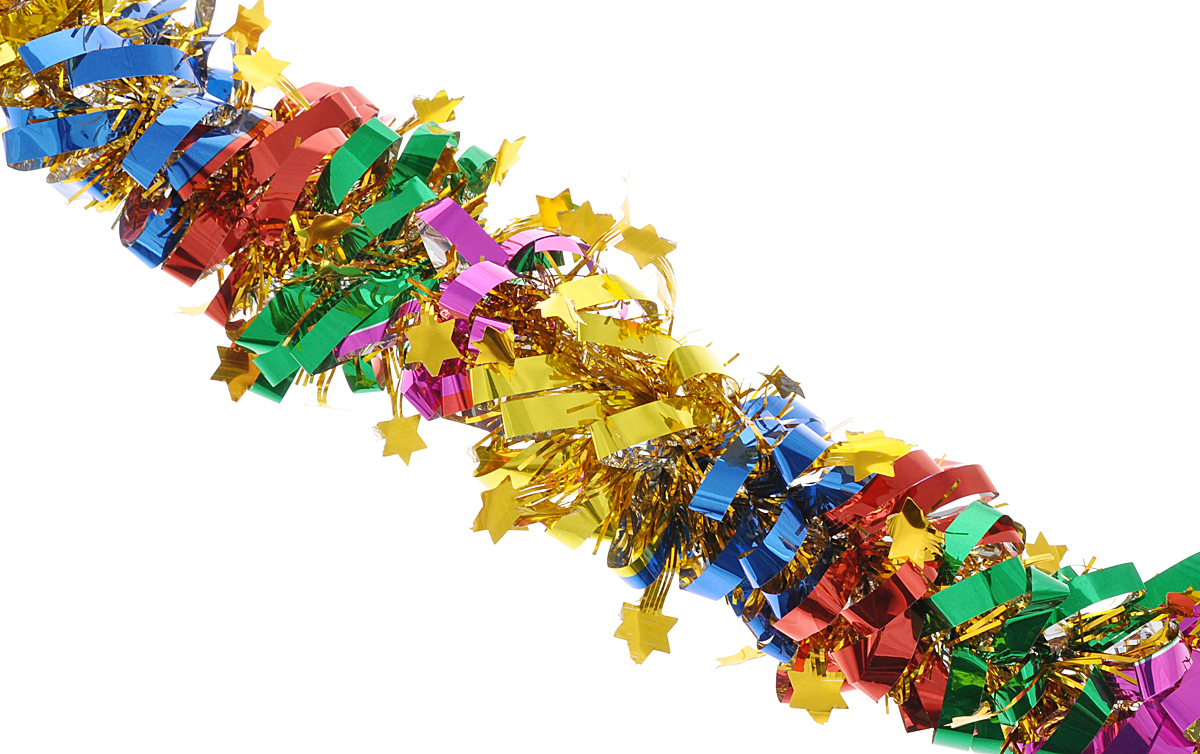 Мишура новогодняя Феникс-презент Magic Time, цвет: золотистый, красный, зеленый, диаметр 8 см, длина 200 см. 3817738177Мишура новогодняя Феникс-презент Magic Time, выполненная из ПЭТ (полиэтилентерефталата), поможет вам украсить свой дом к предстоящим праздникам. Мишура армирована, то есть имеет проволоку внутри и способна сохранять приданную ей форму.Новогодняя елка с таким украшением станет еще наряднее. Новогодней мишурой можно украсить все, что угодно - елку, квартиру, дачу, офис - как внутри, так и снаружи. Можно сложить новогодние поздравления, буквы и цифры, мишурой можно украсить и дополнить гирлянды, можно выделить дверные колонны, оплести дверные проемы.