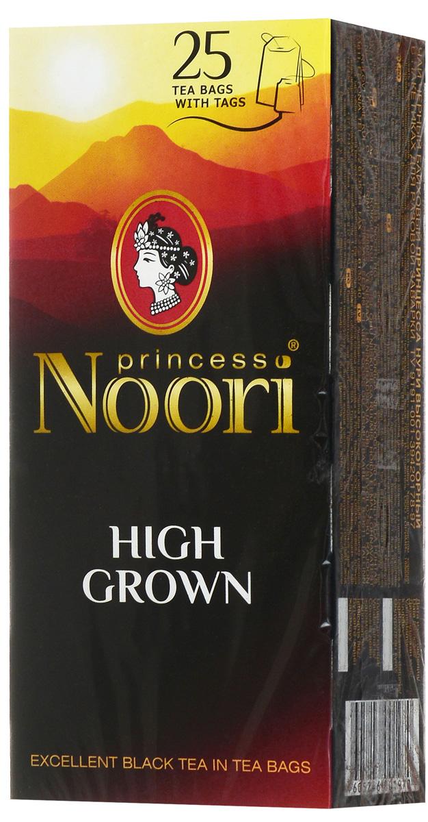 Принцесса Нури Высокогорный черный чай в пакетиках, 25 шт принцесса нури клубника со сливками черный чай в пакетиках 25 шт