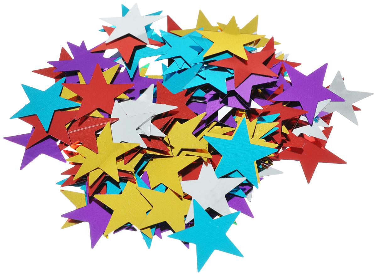 Новогоднее конфетти Феникс-презент Звезды, 15 г30954Новогоднее конфетти Феникс-презент Звезды выполнено из ПЭТ (полиэтилентерефталата) в форме звезд.Это чудесное украшение принесет в ваш дом или офис незабываемую атмосферу праздничного веселья! Вес упаковки: 15 г.Размер звезды: 3 см х 3 см.