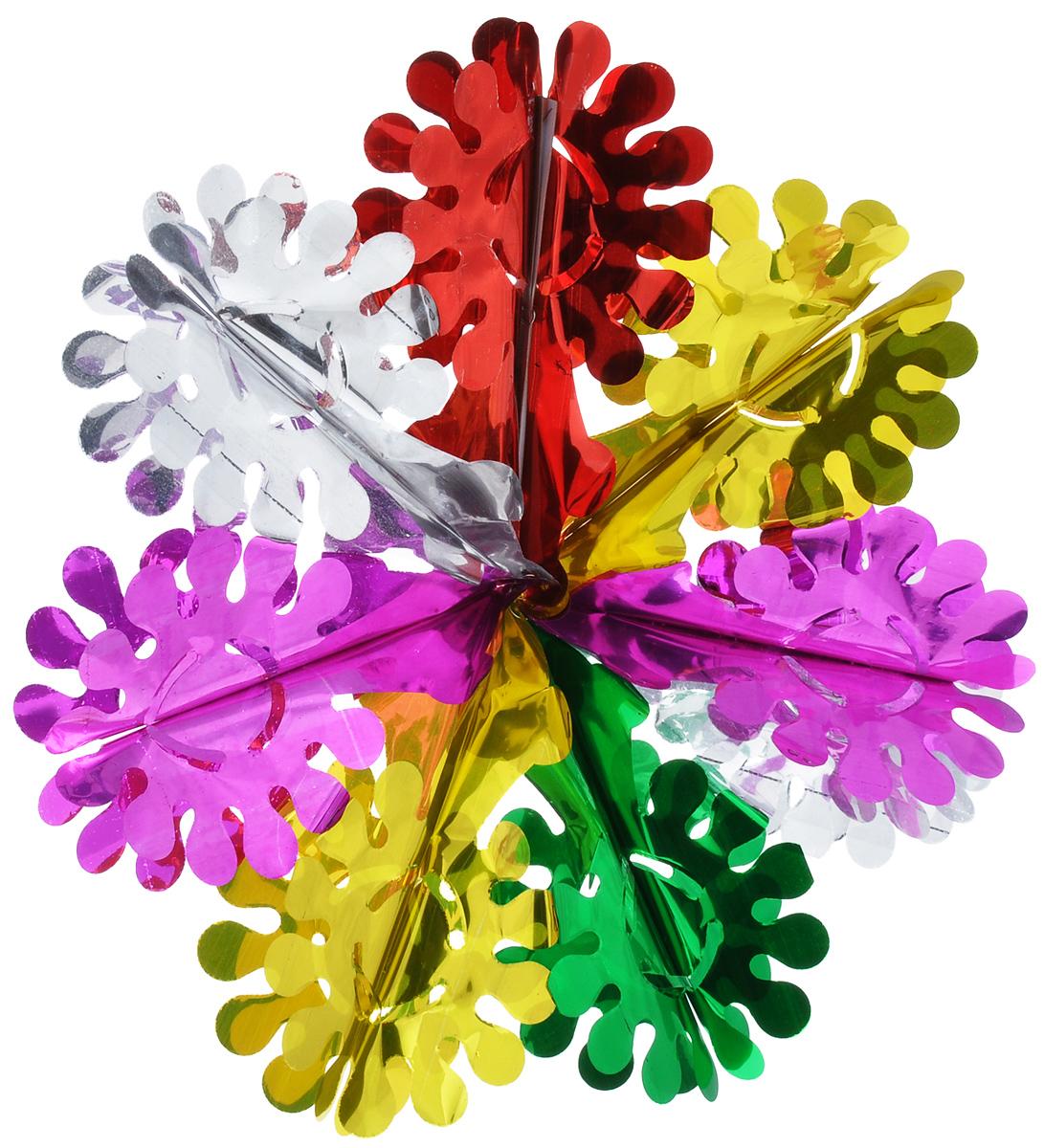 Новогодняя гирлянда Феникс-презент Ажурная снежинка, диаметр 39 см30987Новогодняя гирлянда Феникс-презент Ажурная снежинка прекрасно подойдет для декора дома или офиса. Украшение выполнено из ПЭТ (полиэтилентерефталата), легко складывается и раскладывается. Новогодние украшения несут в себе волшебство и красоту праздника. Они помогут вам украсить дом к предстоящим праздникам и оживить интерьер по вашему вкусу. Создайте в доме атмосферу тепла, веселья и радости, украшая его всей семьей.