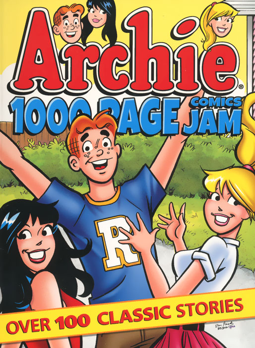 Archie: 1000 Page Comics: Jam archie giant comics 75th anniversary book