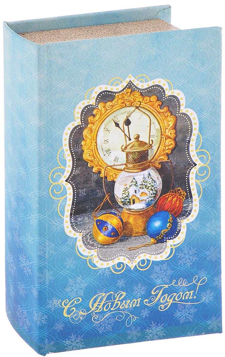 Шкатулка декоративная Феникс-презент Новогодняя лампа, 17 см х 11 см х 5 см лампа настольная феникс презент белка цвет белый 17 х 12 х 19 см