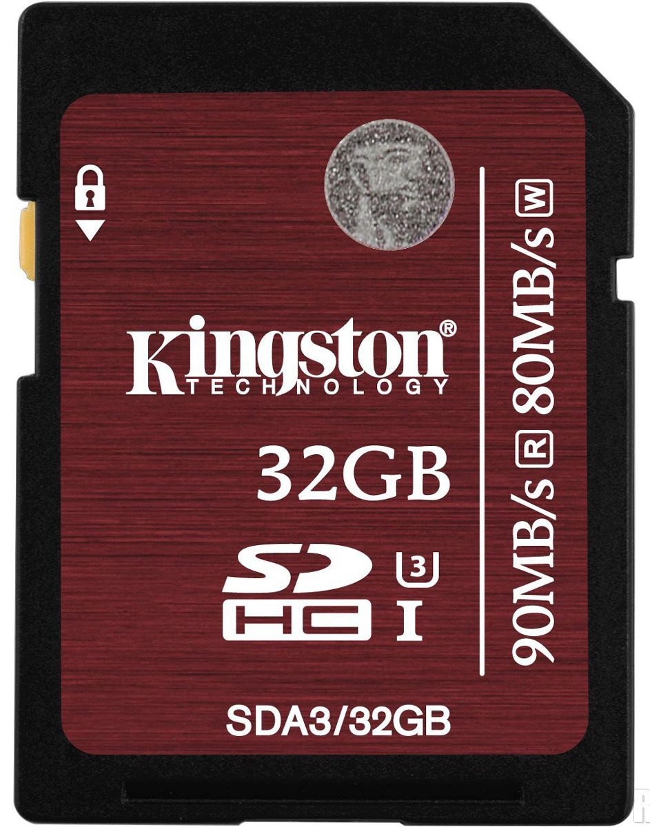 Kingston SDHC Class 10 UHS-I U3 32GB карта памяти