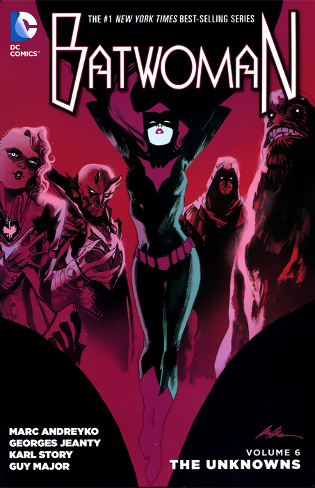 Batwoman: Volume 6: The Unknowns driven to distraction