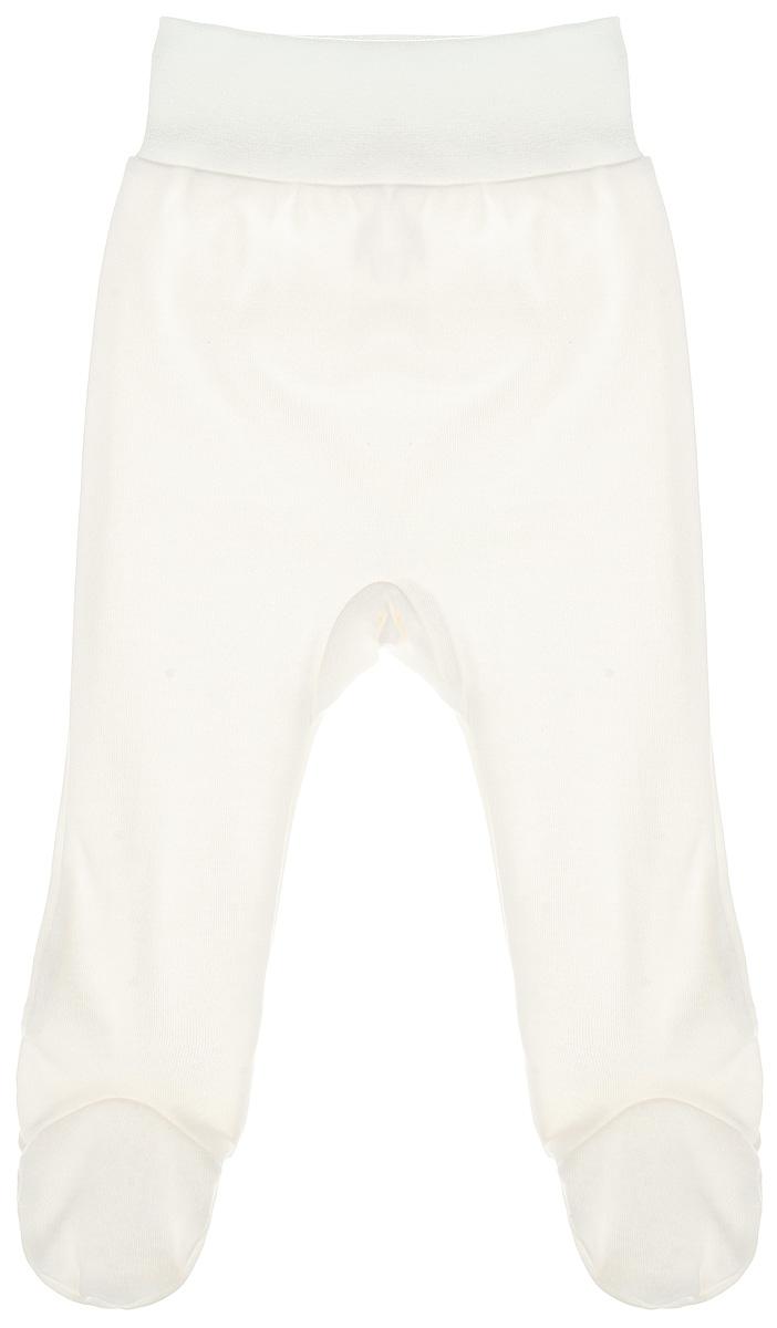 Ползунки на широком поясе КотМарКот, цвет:молочный. 3587. Размер 74, 6-9 месяцев ползунки трикотажные на 0 9 месяцев