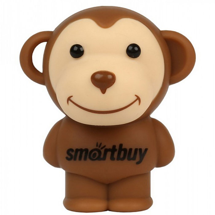SmartBuy Wild Series Monkey 16GB USB-накопитель smartbuy smartbuy usb для apple ik 512