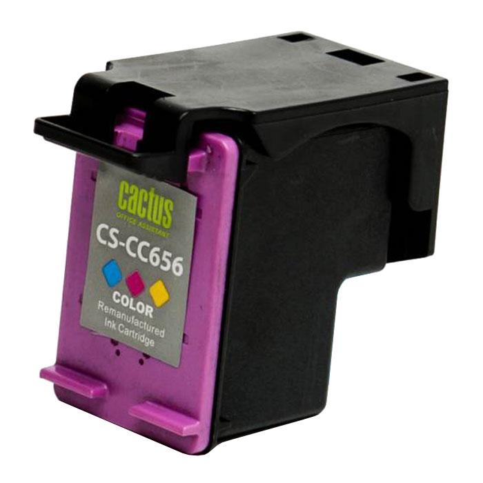 Cactus CS-CC656, Color струйный картридж для HP OfficeJet 4500/J4580/J4660/J4680CS-CC656Картридж Cactus CS-CC656 для струйных принтеров HP.Расходные материалы Cactus для печати максимизируют характеристики принтера. Обеспечивают повышенную четкость изображения и плавность переходов оттенков и полутонов, позволяют отображать мельчайшие детали изображения. Обеспечивают надежное качество печати.