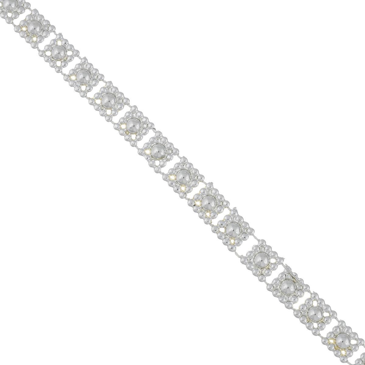 Новогодняя гирлянда Феникс-презент Квадратики, цвет: серебристый, длина 2,7 м38687Новогодняя гирлянда Феникс-презент Квадратики, выполненная из высококачественного полистирола, прекрасно подойдет для декорации новогодней ели. Она подарит сказочную атмосферу и ощущение праздника. Откройте для себя удивительный мир сказок. Почувствуйте волшебные минуты ожидания торжества и новогоднего настроения.Ширина гирлянды: 0,9 см.