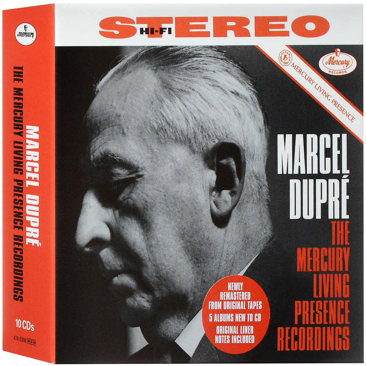 Marcel Dupre. The Mercury Living Presence Recordings (10 CD)