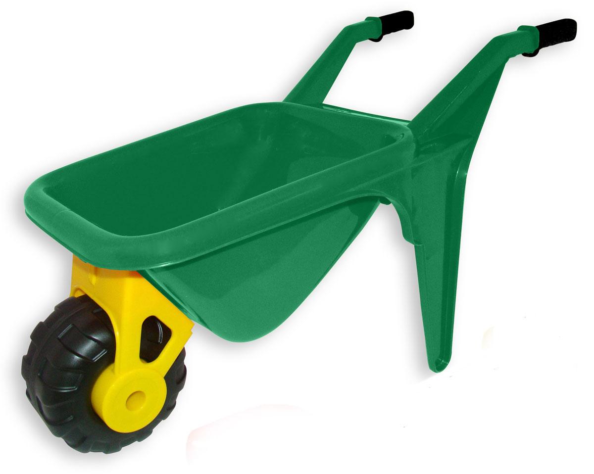Полесье Тачка детская Садовод цвет зеленый - Игры на открытом воздухе
