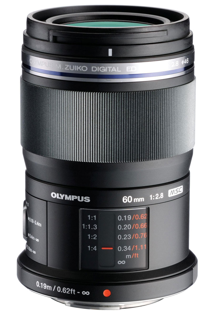 Olympus M.Zuiko Digital ED 60mm f/2.8, Black макрообъектив