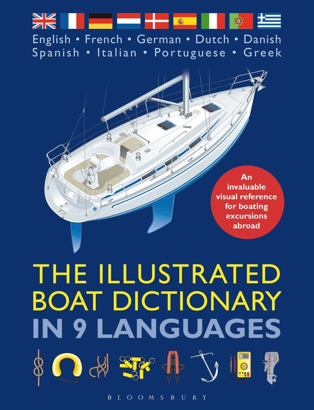 The Illustrated Boat Dictionary in 9 Languages girl on the boat