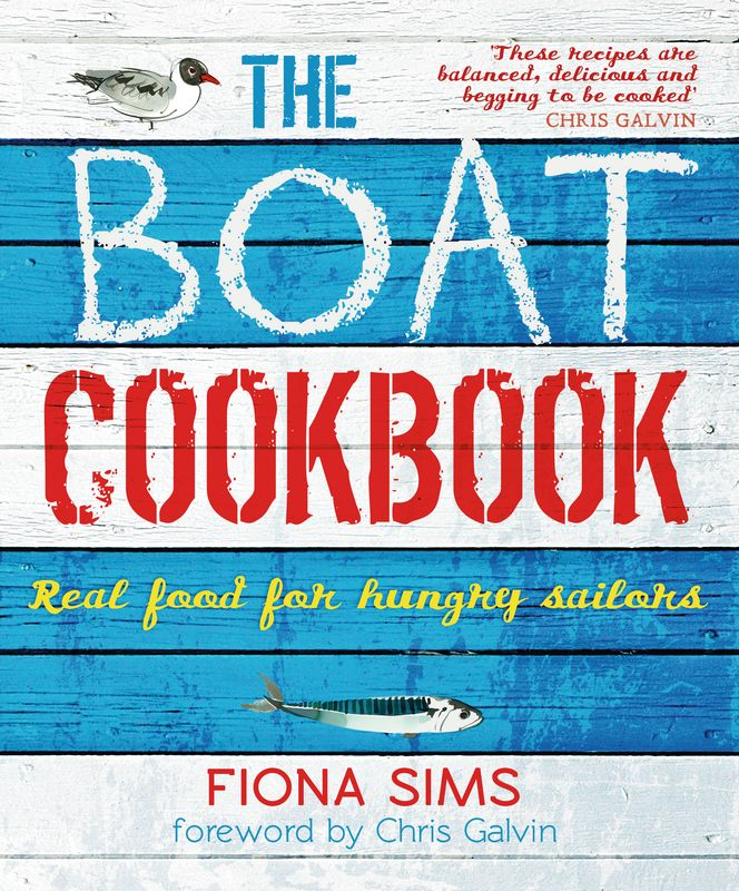 The Boat Cookbook girl on the boat