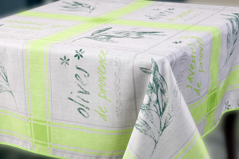 Скатерть Прованс, прямоугольная, цвет: светло-зеленый, 150x 220 см6191522-23prВеликолепная прямоугольная скатерть, выполненная из полиэстера, органично впишется в интерьер любого помещения, а оригинальный дизайн удовлетворит даже самый изысканный вкус.Скатерть Прованс с водоотталкивающей пропиткой создаст праздничное настроение и станет прекрасным дополнением интерьера гостиной, кухни или столовой. Машинная стирка при 30 градусах.