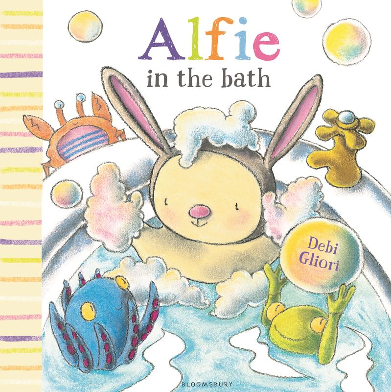 Alfie in the Bath alfie gets in first