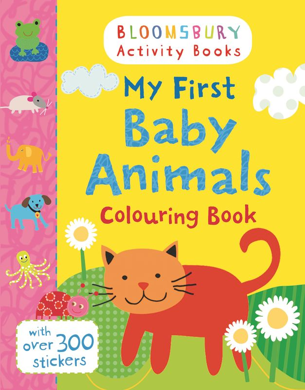 My First Baby Animals Colouring Book first colouring book nativity