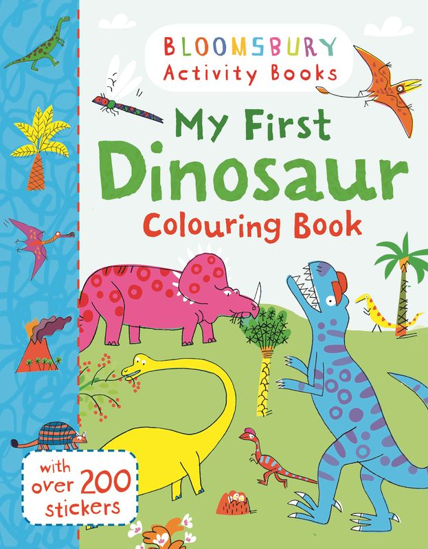 My First Dinosaur Colouring Book (+ наклейки) die hard the official colouring book