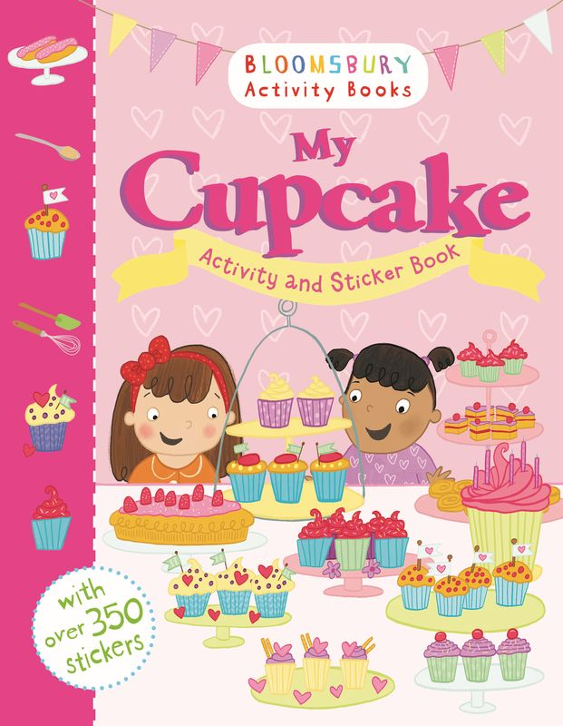 My Cupcake Activity and Sticker Book new arrival kitchen faucet brass wall mounted black oil brushed hot and cold single lever kitchen sink faucet basin faucet mixer