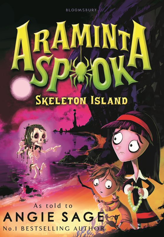 Araminta Spook: Skeleton Island spook s slither s tale