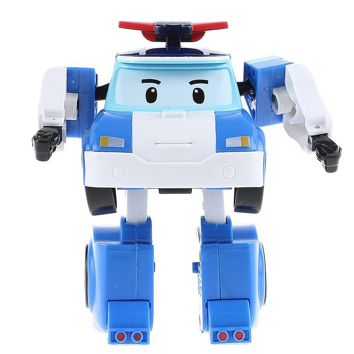 Robocar Poli Игрушка-трансформер Маленький Поли цвет белый голубой игрушка
