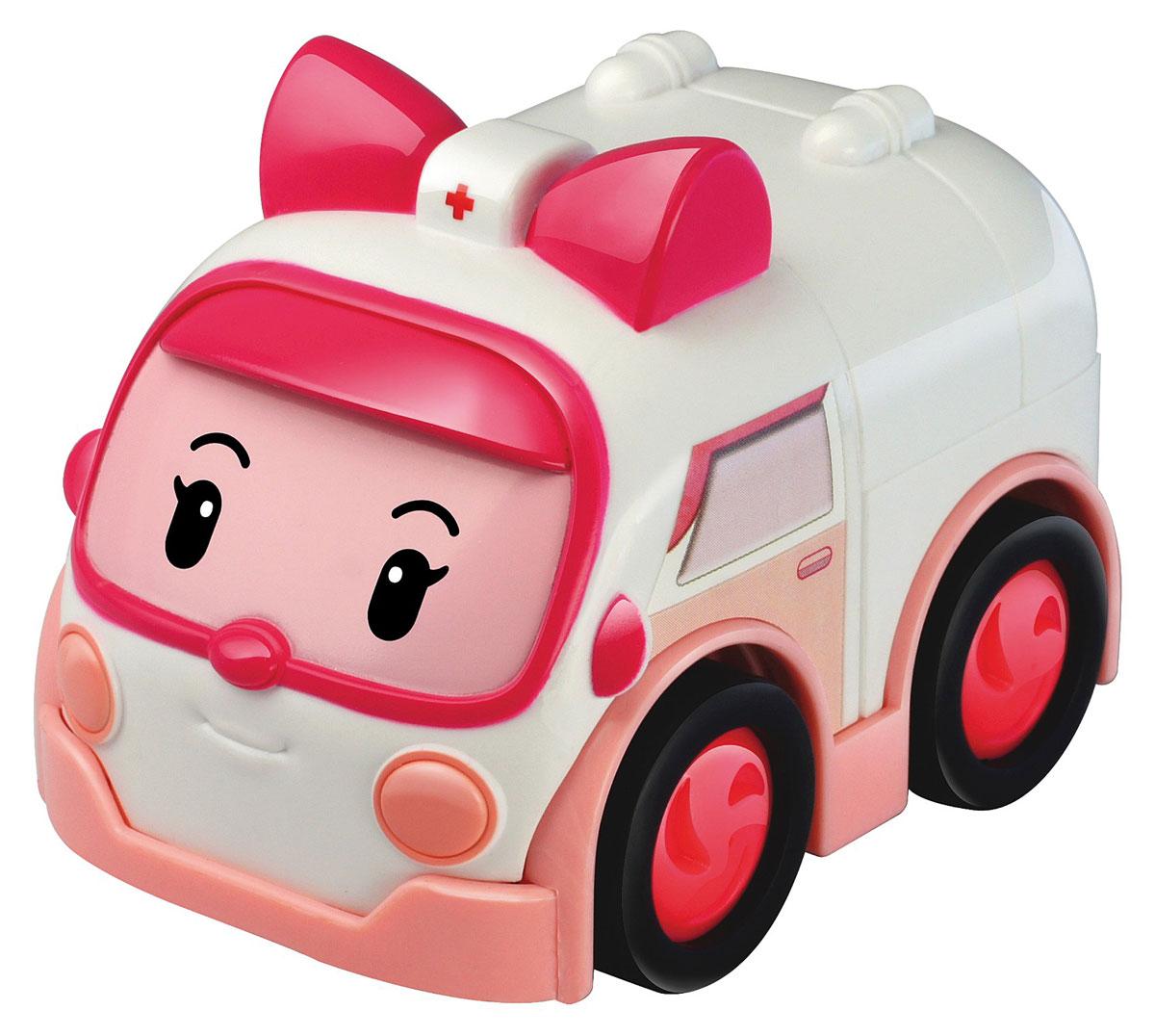 Robocar Poli Игрушка-трансформер Эмбер 7 см машины robocar poli машинка скорой помощи эмбер 6 см