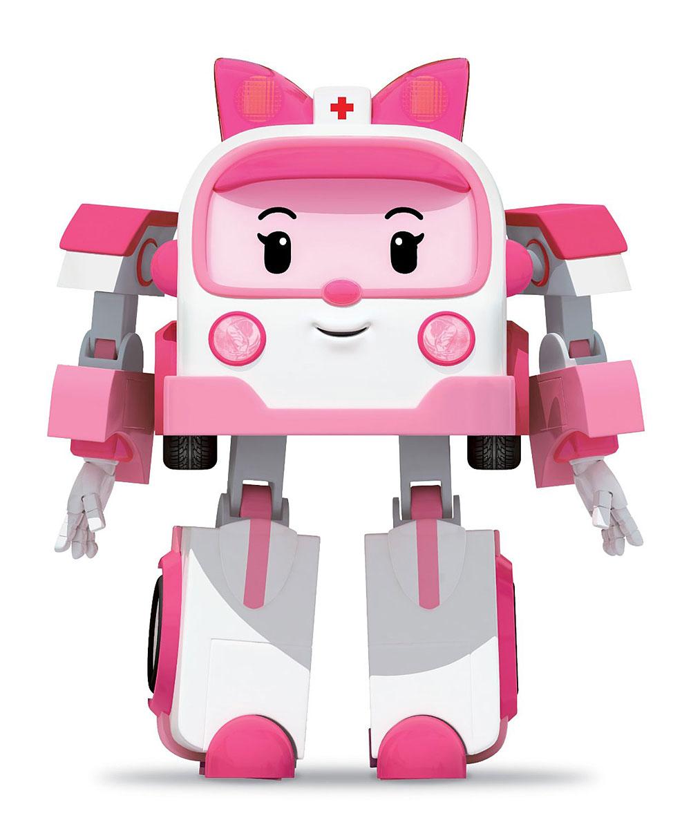 Robocar Poli Игрушка-трансформер Эмбер 10 см машины robocar poli машинка скорой помощи эмбер 6 см