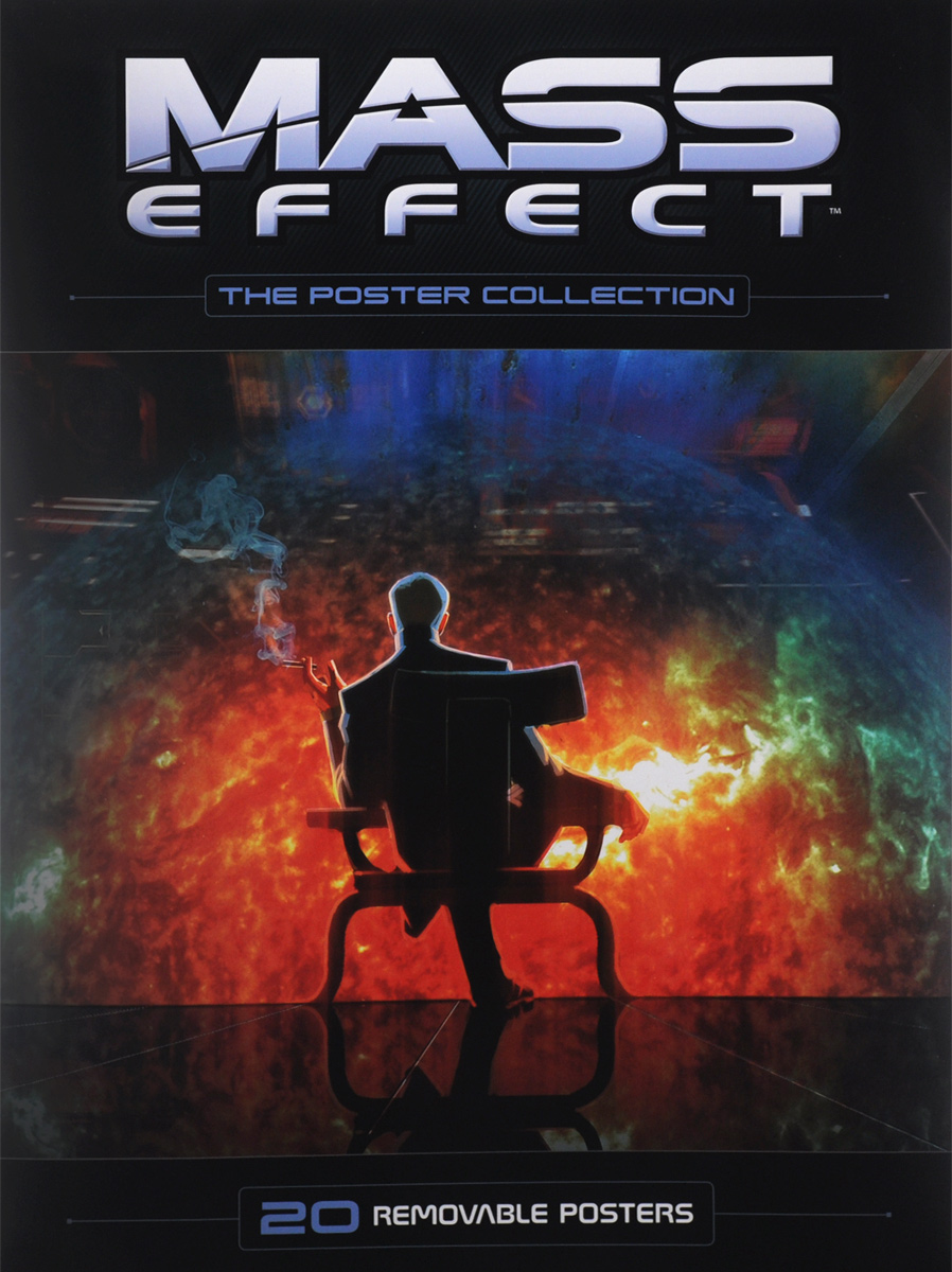 Mass Effect: The Poster Collection: 20 Removable Posters mass effect volume 2 evolution