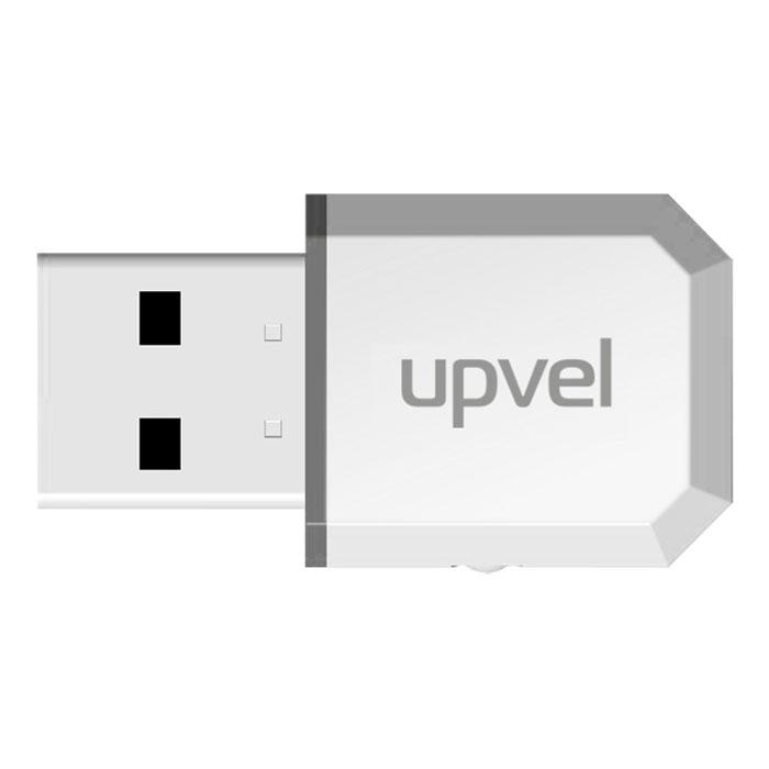 UPVEL UA-371AC Arctic White Wi-Fi USB-адаптер адаптер upvel ua 222nu wi fi usb адаптер стандарта 802 11n 300 мбит с