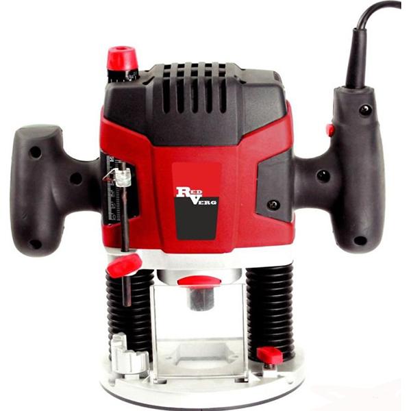 Фрезер RedVerg RD-ER150RD-ER150Фрезер RedVerg RD-ER150 - по-настоящему универсальная фрезерная машина, обеспечивающая максимальное удобство и точность при выполнении работ. Преимущества фрезера RD-ER150 RedVerg: -прецизионные направляющие в высококачественном алюминиевом корпусе; -электронная регулировка скорости; -вращающийся ограничитель обеспечивает 6 фиксированных положения глубины фрезерования с шагом 3 мм; -копировальная втулка и параллельный упор в комплекте позволяет осуществлять точное копирование образцов при фрезеровании.