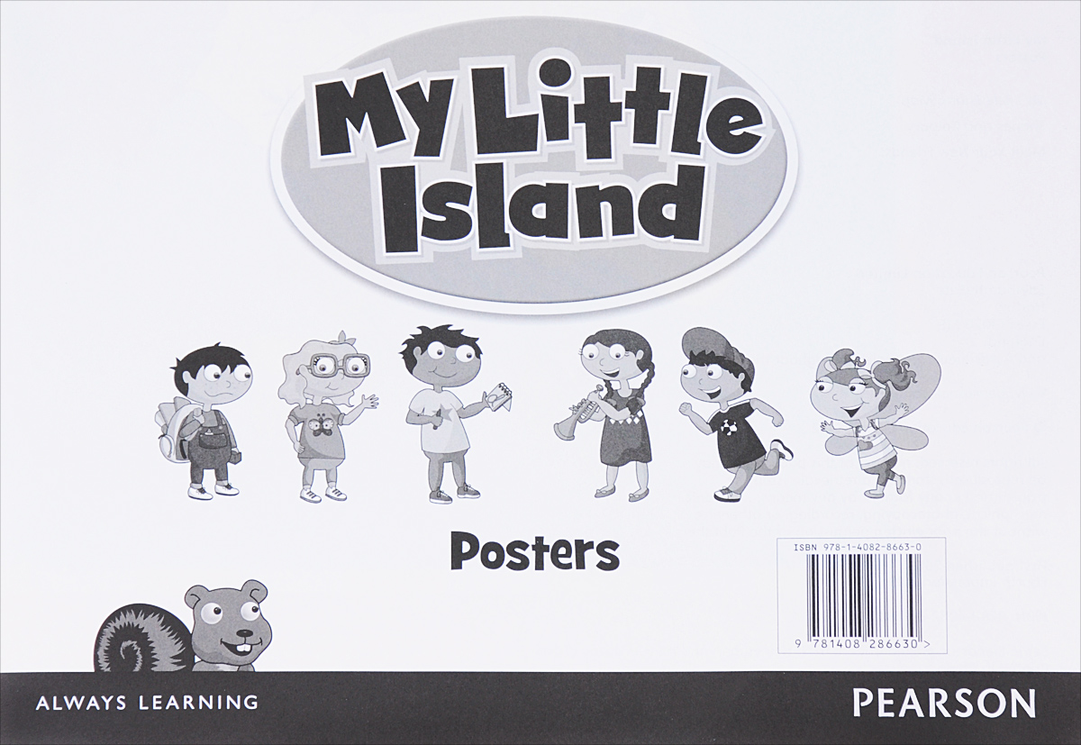 My Little Island: Poster my little island 1 activity book cd rom