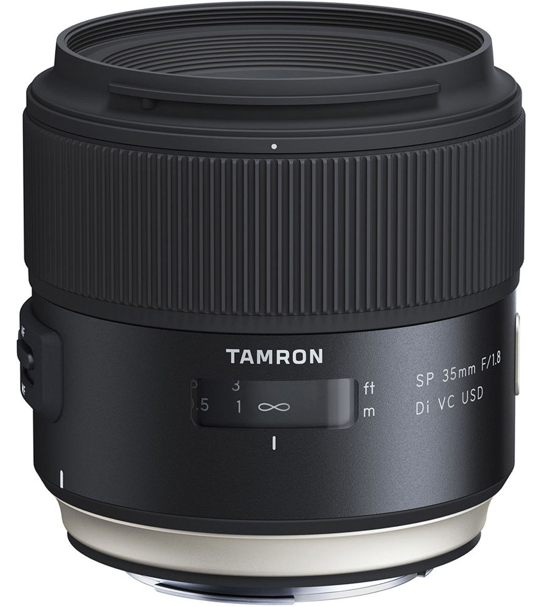 Tamron SP 35mm F/1.8 DI VC USD, Black объектив для Canon - Объективы