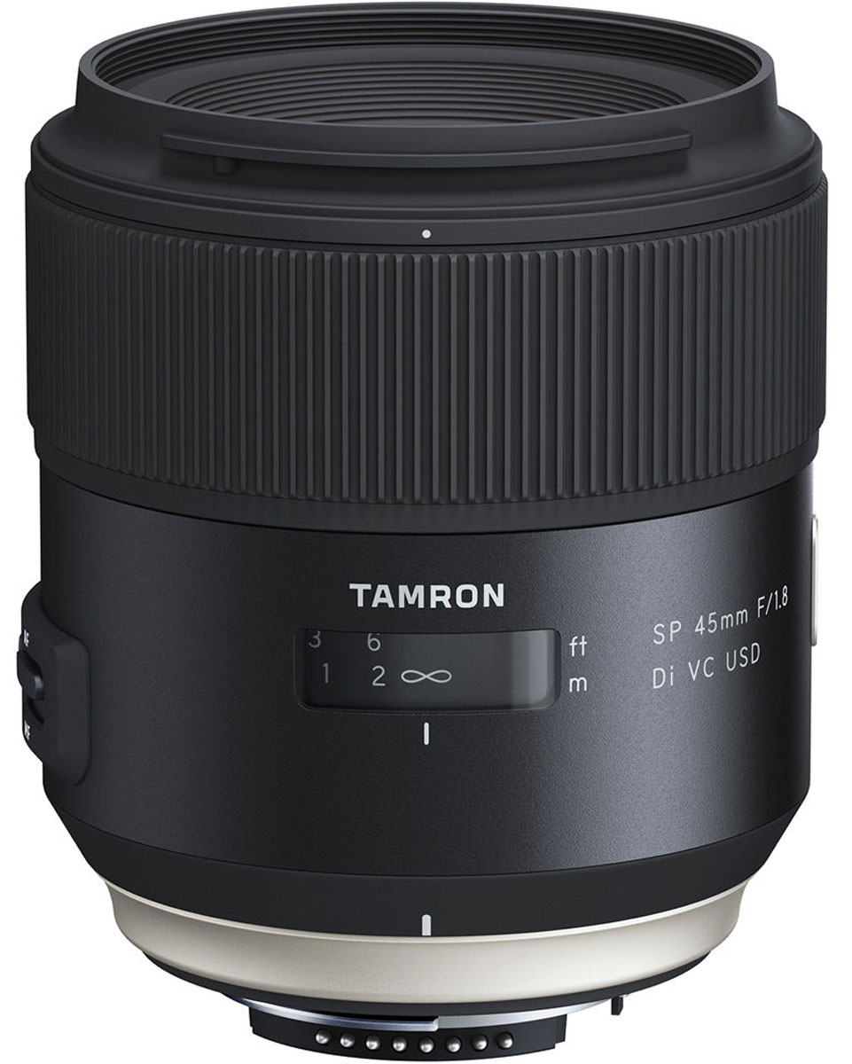 Tamron SP 45mm F/1.8 DI VC USD, Black объектив для Nikon - Объективы