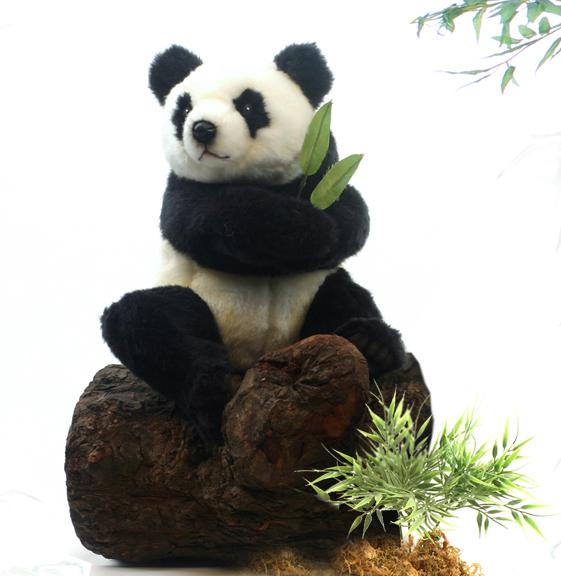 Hansa Мягкая игрушка Панда сидящая 25 см hansa pa4510b421 запасные части