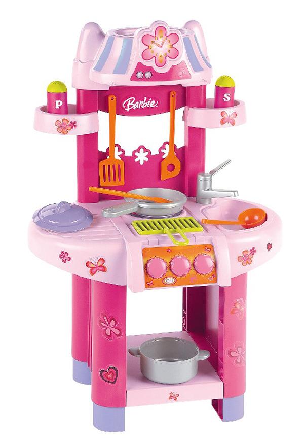 Klein Игровой набор Barbie Кухонный центр машинки barbie игровой набор фургон