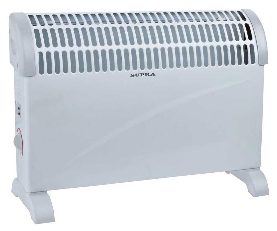 Supra ECS-520SP, White конвекторECS-520SP whiteконвектор электрический, напольный, 2 кВт, нагревательный элемент - стич, регулировка мощности 750/1250/2000 Вт, регулируемый термостат, защита от перегрева, индикация, до 25 кв мКак выбрать обогреватель. Статья OZON Гид