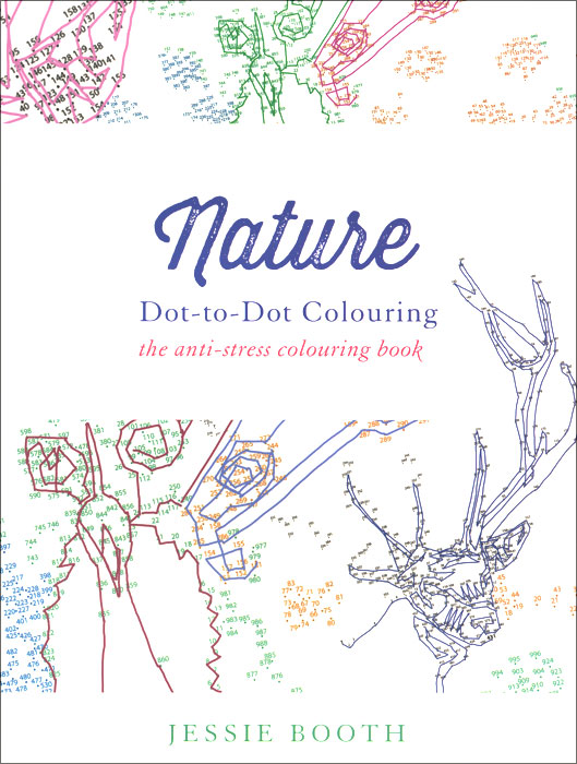 Nature: Dot to Dot Colouring 2018 календарь dot to dot 30 30 pgp 5286 v