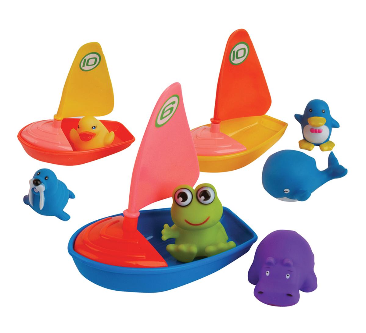 Курносики Набор игрушек для ванной Удивительная регата 3 шт набор игрушек для ванной удивительная регата