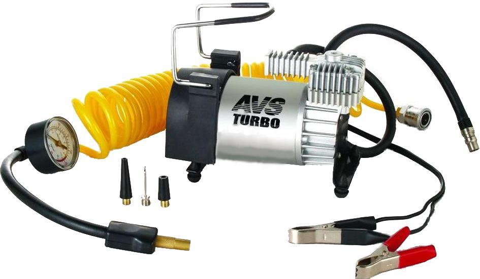 Компрессор автомобильный AVS KS600 набор автомобильных предохранителей avs мини 25а 100 шт