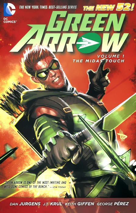 Green Arrow: Volume 1: The Midas Touch coldplay – a rush of blood to the head lp