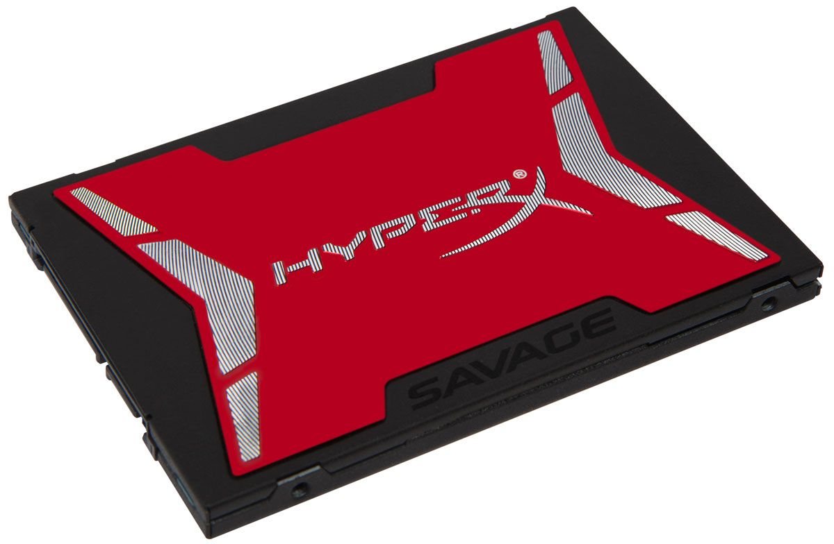 Kingston HyperX Savage 240GB SSD-накопительSHSS37A/240GТвердотельный накопитель Kingston HyperX Savage обеспечивает высокую производительность для требовательных пользователей. Самый быстрый твердотельный SATA-накопитель HyperX SSD с 4-ядерным и 8-канальным контроллером Phison S10, который обеспечивает невероятную скорость - до 560 Мб/с (чтение) и 530 Мб/с (запись) с отношением числа операций ввода-вывода в секунду (IOPS) 100000/89000 (чтение/запись). Результат - эффективная работа в многозадачном режиме и повышение скорости работы системы в целом с сохранением высоких рабочих характеристик даже при заполнении накопителя. Благодаря низкому профилю и толщине всего 7 мм, Kingston HyperX Savage может устанавливаться в большинстве ноутбуков, настольных компьютеров и ПК для домашних кинотеатров (HTPC).Перенос сжимаемых данных (ATTO): 560 Мб/с (чтение) и 530 Мб/с (запись)Перенос несжимаемых данных (ATTO) (AS-SSD и CrystalDiskMark):520 Мб/с (чтение) и 510 Мб/с (запись) Рейтинг PCMARK Vantage HDD Suite: 84000Максимальная скорость чтения/записи случайных блоков 4 Кб: до 89000 IOPSПропускная способность хранения по PCMARK8: 223 Мб/сРейтинг хранения по PCMARK8: 4940Несжимаемая нагрузка: 4700